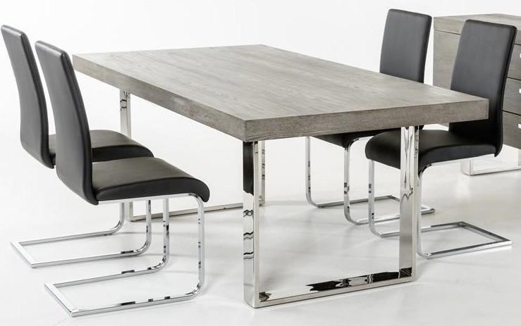 grey wood dining table Gray Wood Dining Table | AdvancedInteriorDesigns.com grey wood dining table