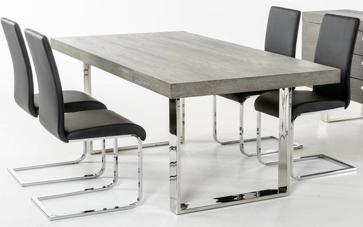 Merveilleux Herald Gray Dining Table