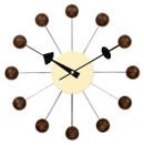 Ball Clock Walnut