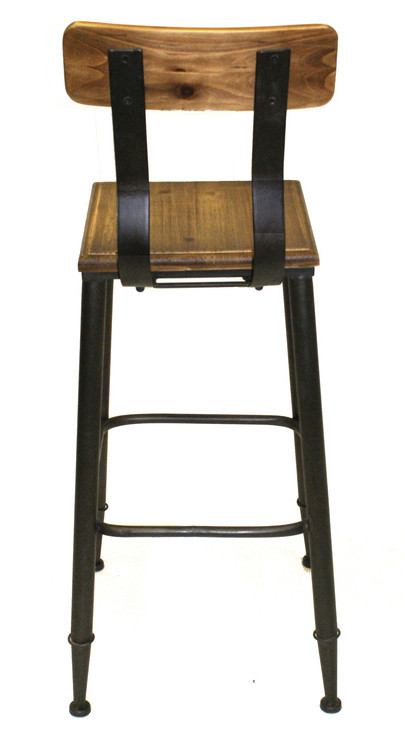 Rustic Boston 28 Quot Seat Height Bar Stool Industrial Bar