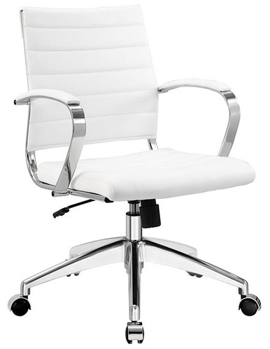 Alera Office Chair Modern Ribbed Back