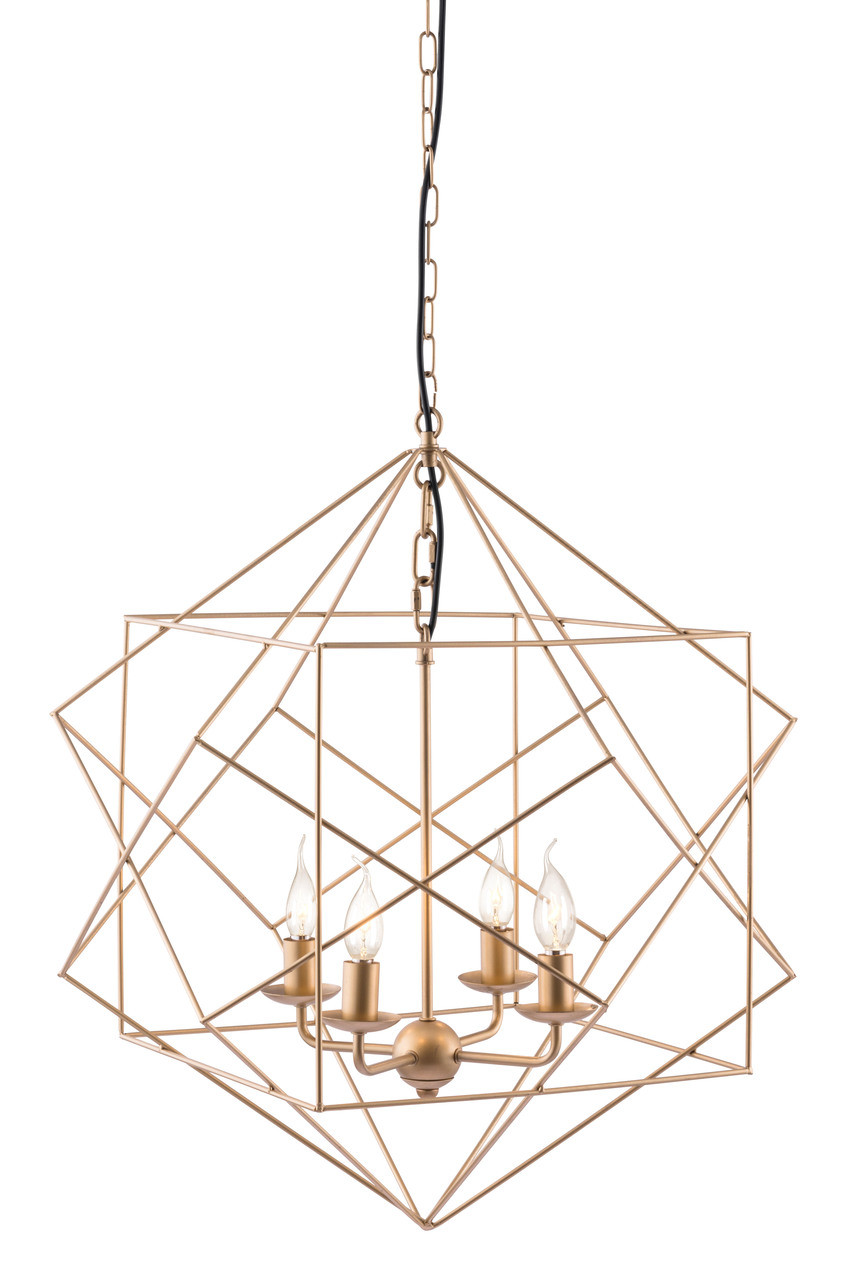 Penta Ceiling Lamp Gold Modern Ceiling Lamps By Zuo