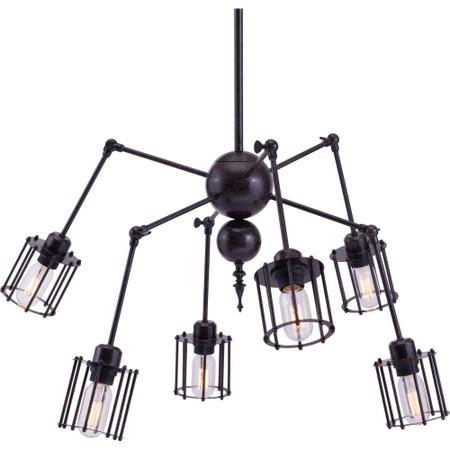 Levin Ceiling Lamp Rust