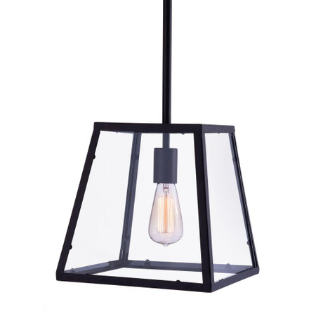 Taupo Ceiling Lamp Distressed Black