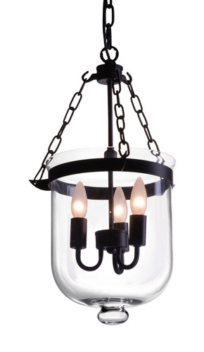 Masterton Ceiling Lamp Distressed Black