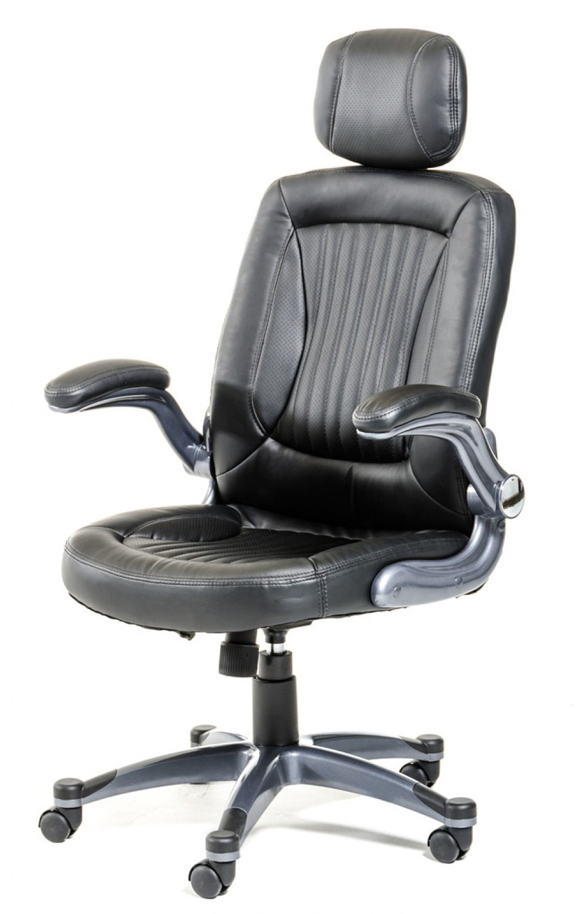 Chief Executive Black Modern Office Chair Modern Black