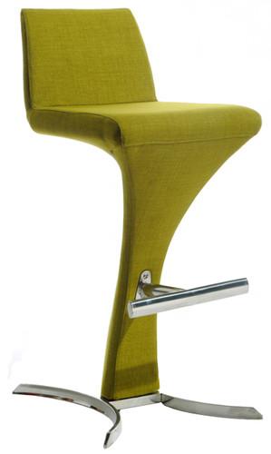 olive green bar stool