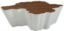 Walnut & White Coffee Table