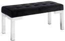 partner bench black velvet