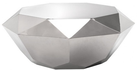 Gem Coffee Table Stainless Steel