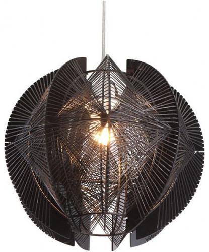 ZUO MODERN CENTARI SINGLE CEILING LAMP BLACK
