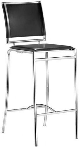 Zuo Modern Soar Bar Chair Black