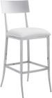 Mach Bar Chair White