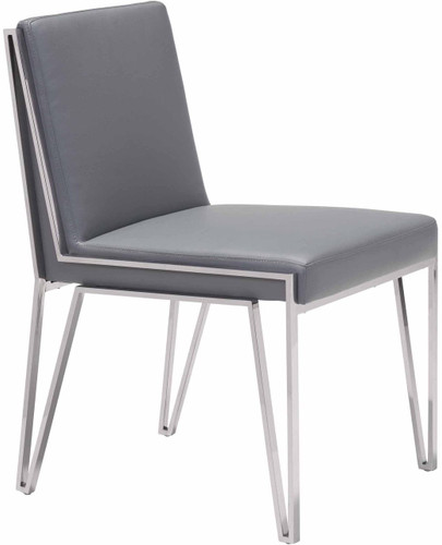 Zuo Modern Kylo Dining Chair Gray