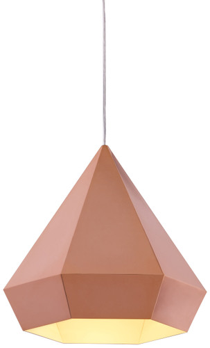 Zuo Modern Forecast Ceiling Lamp Rose Gold