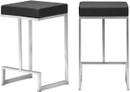 Set Of 2 Darwen Counter Stools In Black