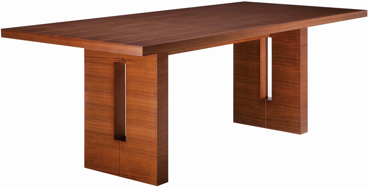 Nico Dining Table In A Stained American Walnut Veneer With Mdf Core Cconstruction