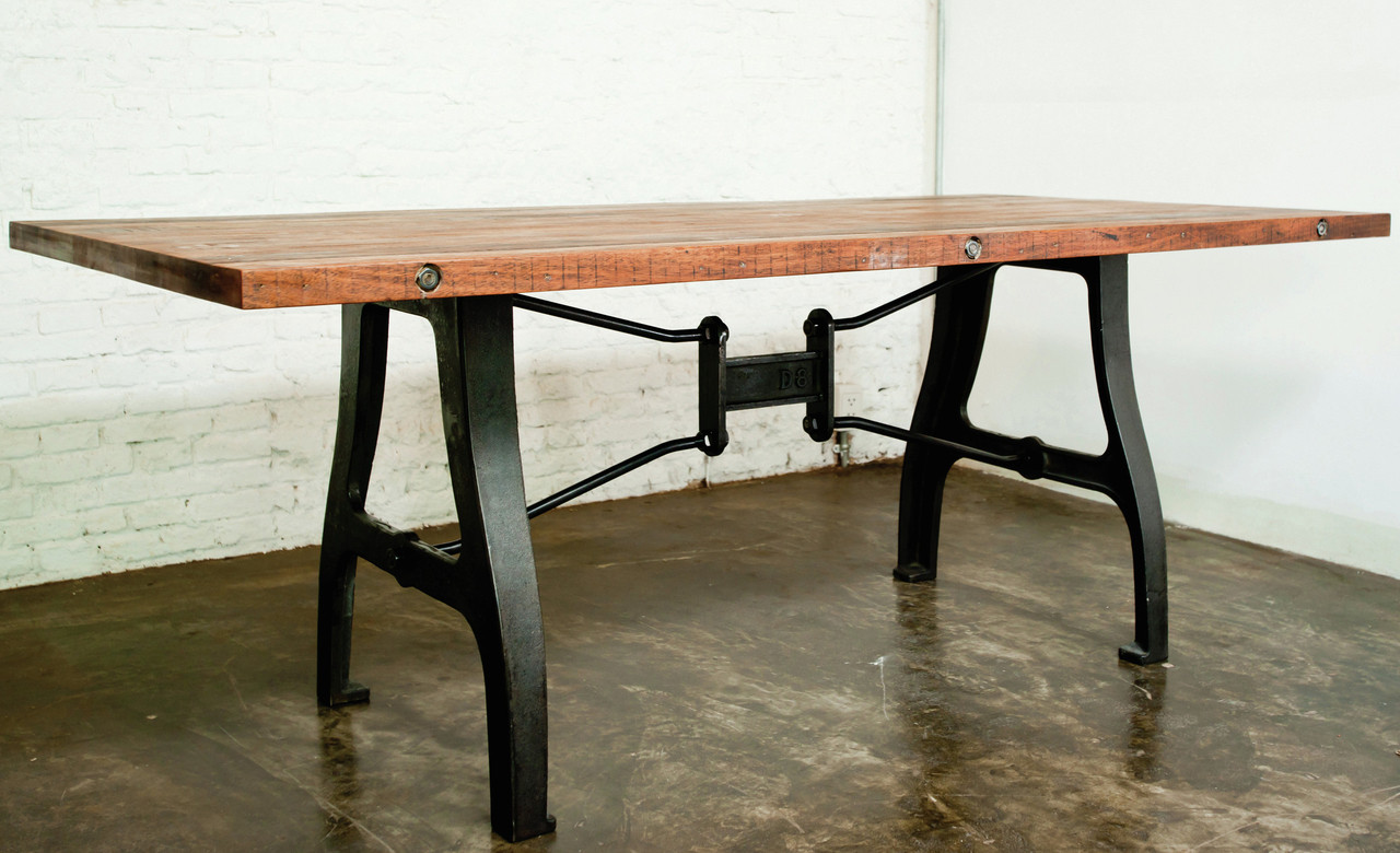 Nuevo V4 Dining Table Industrial Style Dining Room Tables