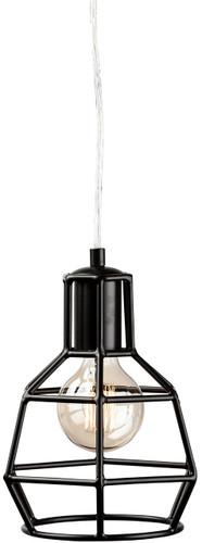 Cage Pendant Lamp Black