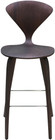Satine Bar Stool American Dark Walnut