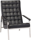 Quentin Lounge Chair Black