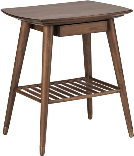 Ari Side Table Walnut Stain