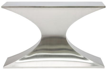 Praetorian Console Brushed Stainless Steel