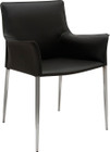 Colter Dining Arm Chair Black