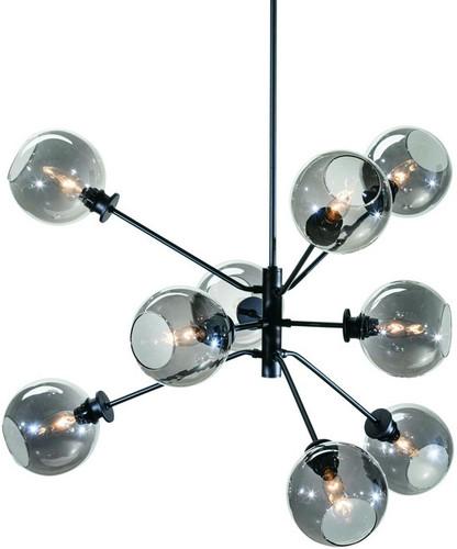 atom pendant lamp grey