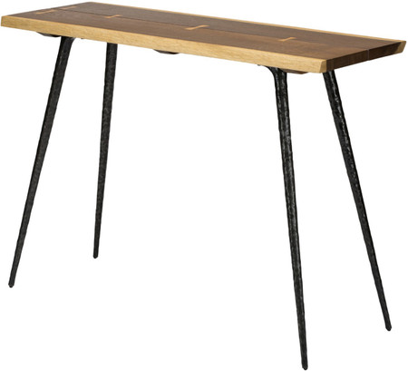 Nexa Console Table Seared Oak