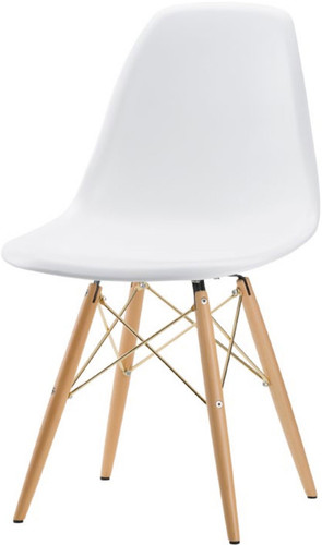 Nuevo Charlie Dining Chair Gold Base