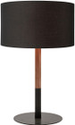 Nuevo Monroe Table Lamp Black