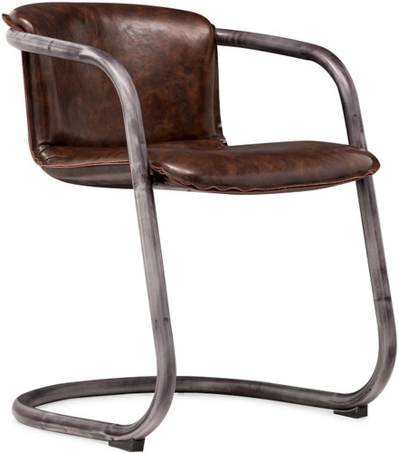 Gear Dining Chair Vintage Brown
