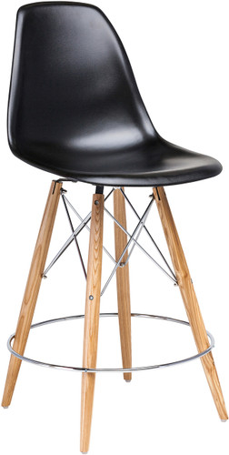 Charlotte Counter Stool Black