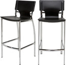 Nuevo Lisbon Counter Stool Black