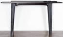 Salk Console Table Charred Oak