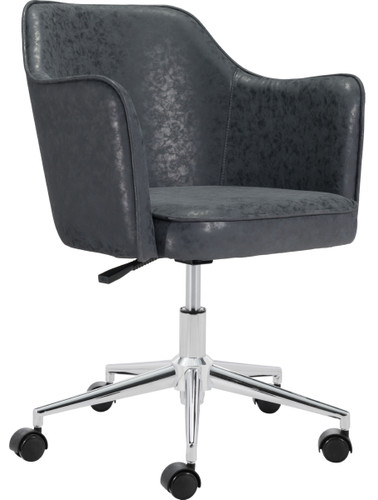 Zuo Modern Keen Office Chair Vintage Black