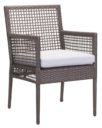 Coronado Dining Chair Cocoa & Light Gray