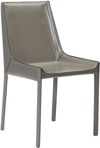 Zuo Fashion Dining Chair Stone Gray