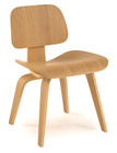 Molded Plywood Dining Chair-Natural