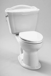 Toto Ultramax Ii Toilet 1 28 Gpf With Sanagloss Ada