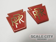 PRE-FINISHED PRR Keystone signs (Pair) Large