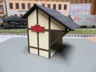 Laser Cut PRR Passenger Shelter Model Kit O scale