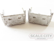 48-110 HEAVY OR LIGHT WEIGHT BATTERY BOX O SCALE FKA KEIL LINE