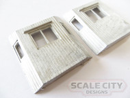 48-411 Wood style Caboose Bay Windows FKA Keil Line O Scale
