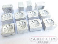 48-247 Roof Vent Exhaust Fan Clerestory Passenger Car O scale