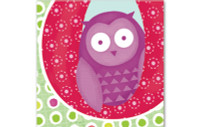 Little Chipipi Eco Greeting Card - Owl