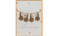 Go Bananas Monkeys Card