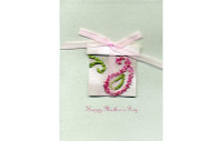 Beaded Mother's Day Card