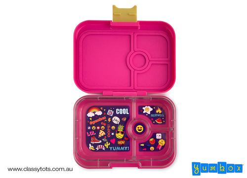 Kawaii Pink - 4 compartment - Open